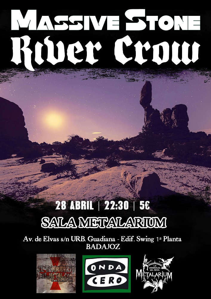 River Crow Badajoz