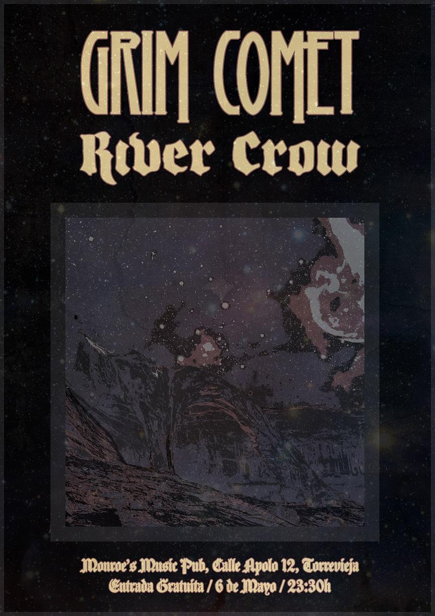 River Crow en Torrevieja
