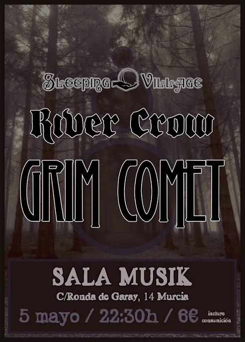 River Crow Sala Musik Murcia